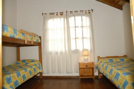 dormitorio cabaña 1 y 2