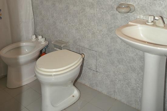 baño cabaña 1 y 2